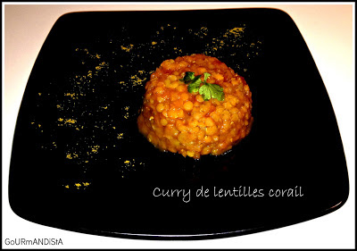 photo Curry de lentilles corail