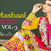 Mashaal Embroidered Dresses by Lala Textiles | Mashaal Embroidered Summer Dresses 2014 Vol 3