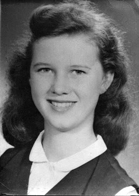 Carolyn Marie Blacketer 1954 1955 Providence High School San Antonio Texas