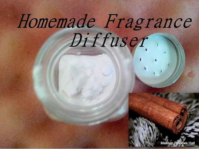 Homemade Fragrance Diffuser Recipe