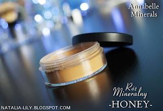 ANNABELLE MINERALS Róż Mineralny Honey