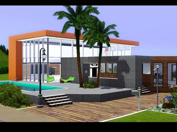 Koalafolio Sims3 House LIVING DESIGN VIVA HOUSE THE SIMS 3