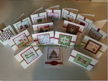 Christmas Card Class IN-THE-MAIL. ONLY 3 LEFT!!!