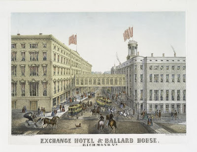 Exchange Hotel Richmond Virginia Edgar Allan Poe
