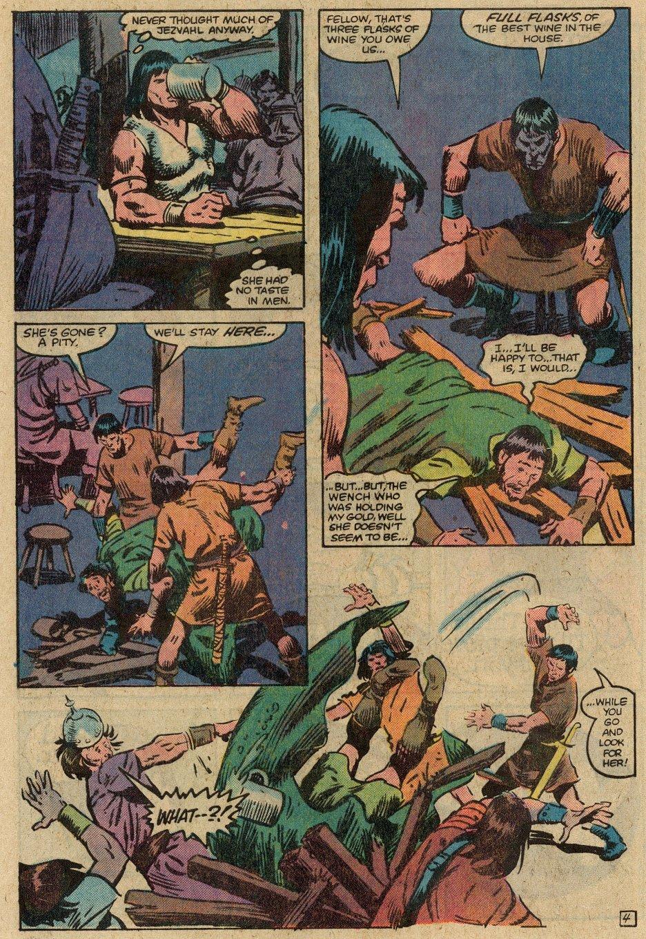 Conan the Barbarian (1970) Issue #146 #158 - English 7