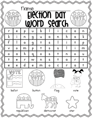 printable worksheets on 2012 election | just b.CAUSE