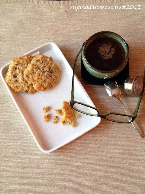 cookies ai fiocchi di farro (2 versioni)