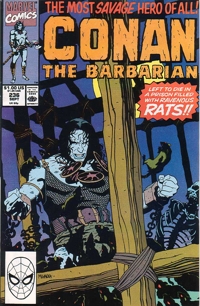 Conan the Barbarian (1970) Issue #236 #248 - English 1