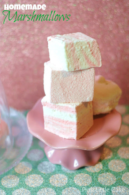 Pink Little Cake: Vanilla Homemade Marshmallows
