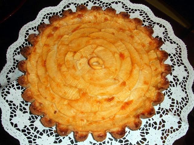ricordo di maffo, la crostata di mele
