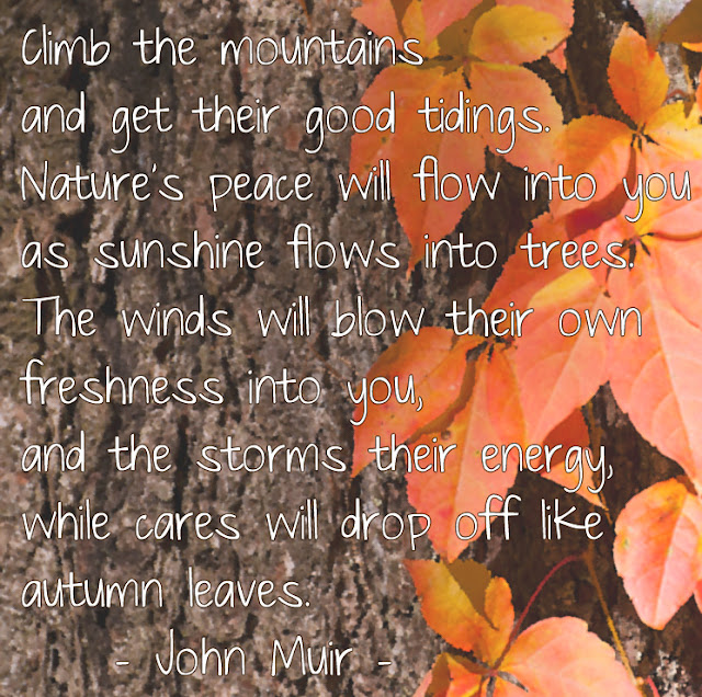 John Muir Autumn Mountains
