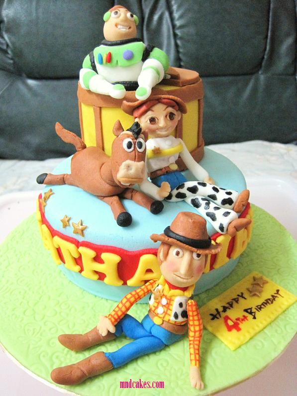 Mom And Daughter Cakes Toy Story Birthday Cake Woody And Friends