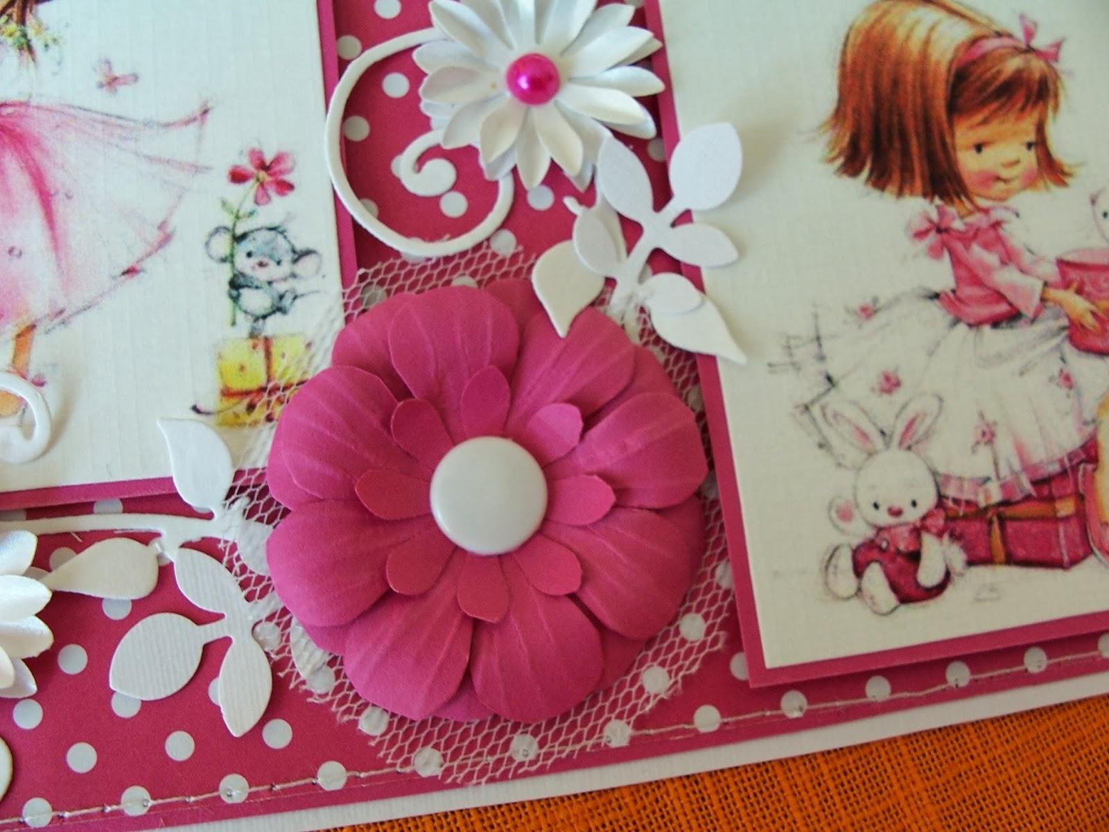 decorzoan  kartki urodzinowe dla dziewczynki