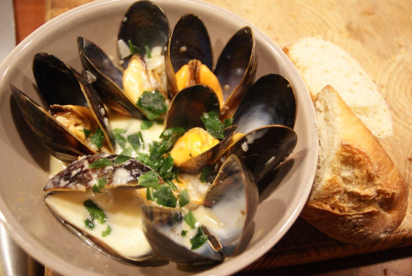 färska musslor hållbarhet