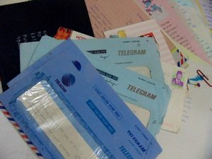 tentang elektronik: sejarah telegram (telegraf)