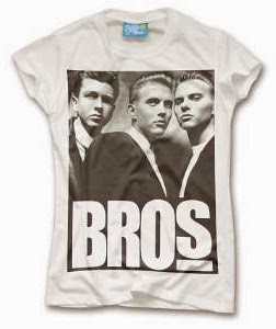 Black and white Bros Poster T-shirt