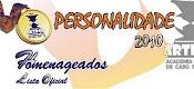 PREMIADA COMO PERSONALIDADE 2010