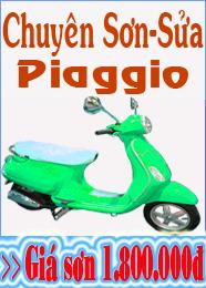 Sơn xe Piaggio
