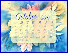 FREE!!! - October Calendar!