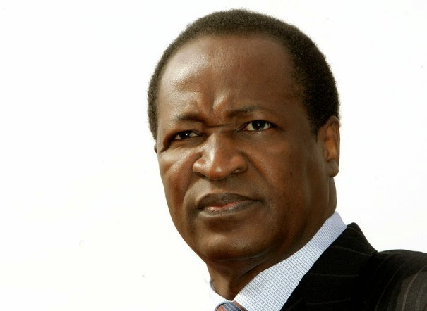 Deposed president of Burkina Faso Blaise Compaorecc: TAE