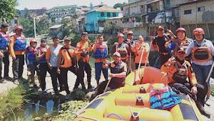 BPBD Kota Bogor Lakukan Pendampingan Bersama KPC dan KLHK Terkait Pencemaran Ciliwung