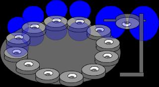 motor magnetico usando somente anéis de ferrite
