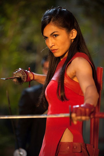 Elektra will show up in the Netflix Daredevil series played by Elodie Yung