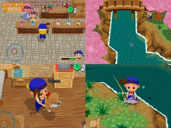 Seri Game Harvest Moon dari Masa ke Masa