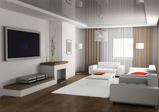 Modern Minimalist Living rooms, Decoration and Design