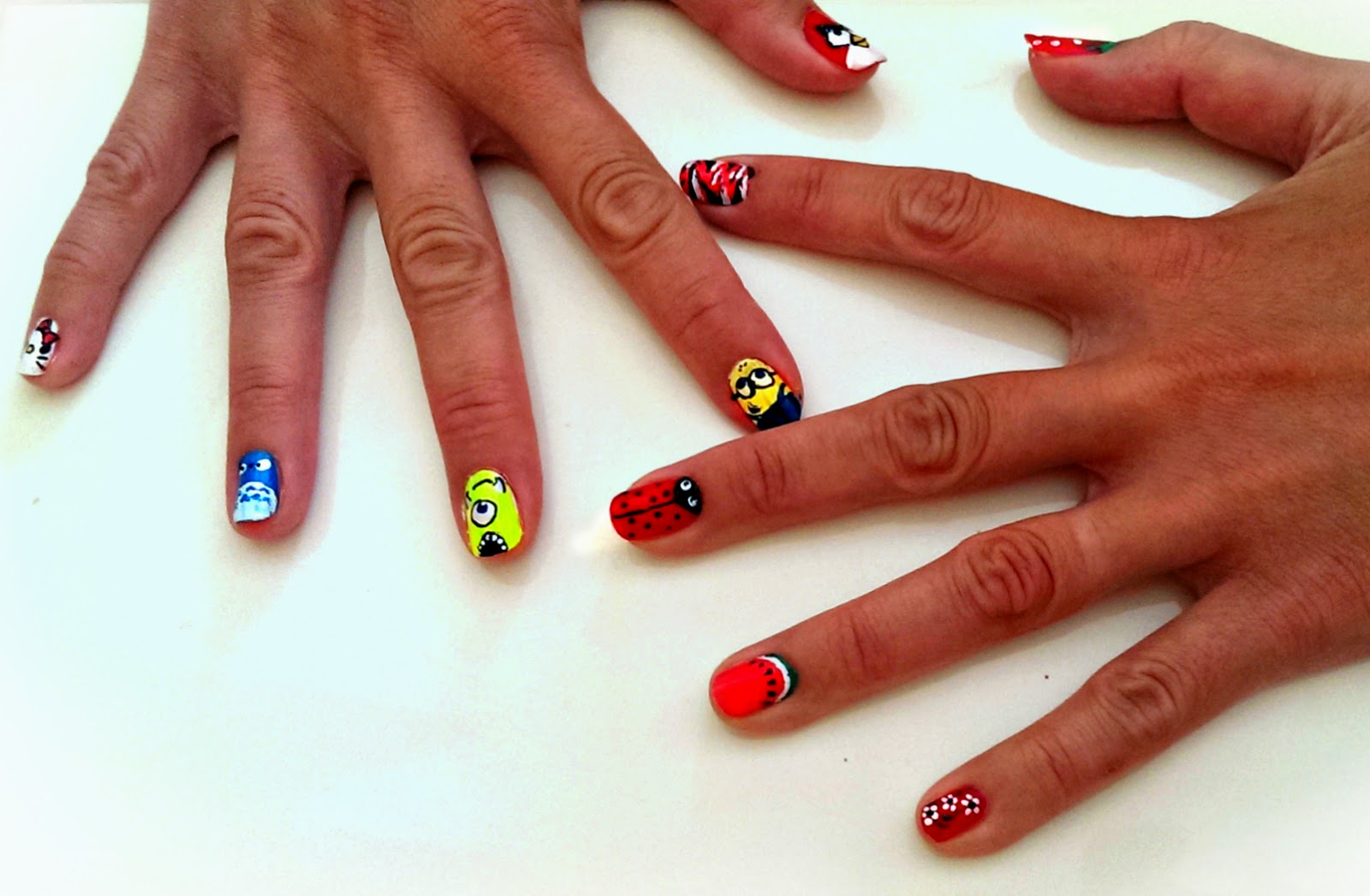 hot designs nail art ideas