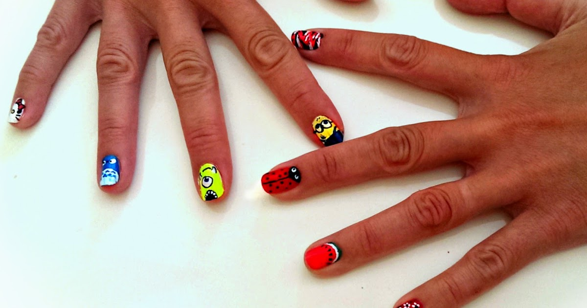 Hot Designs Nail Art Ideas