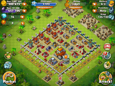 IOS game like Clash of Clans - Jungle Heat