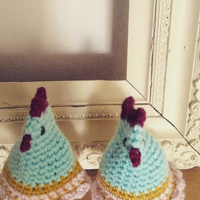 Hen Party egg cosy! | Claire Garland: knitting patterns, dolls and ...