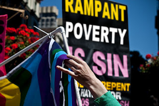 Rampant Poverty is Sin, Hate, Pride, Gay, Photoshop,
