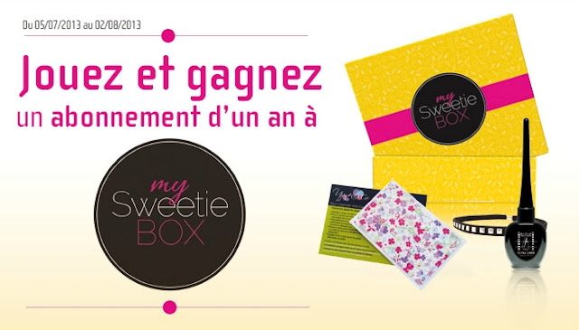 Des box My Sweetie Box + 90 lots de maquillage