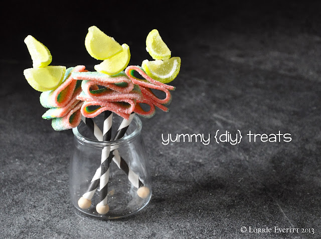 create candy kabobs with or for the kids | Lorrie Everitt Studio