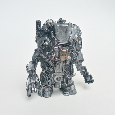 """Trashy"" Edition JNK-TRN Resin Figure by Motorbot"