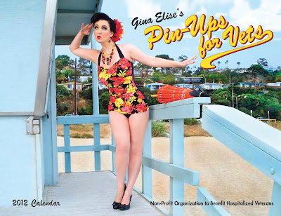 Pinups for Vets calendar