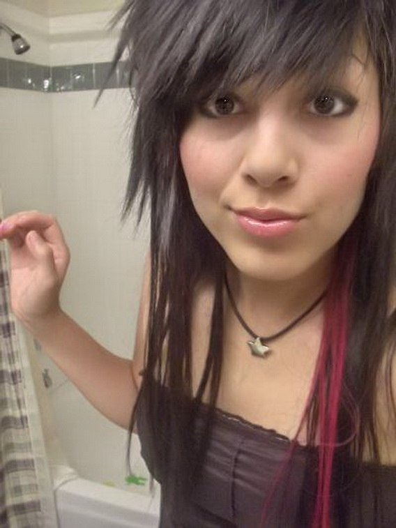 Crazy Emo Hairstyles Emo Haircuts For Girls With Long Hair