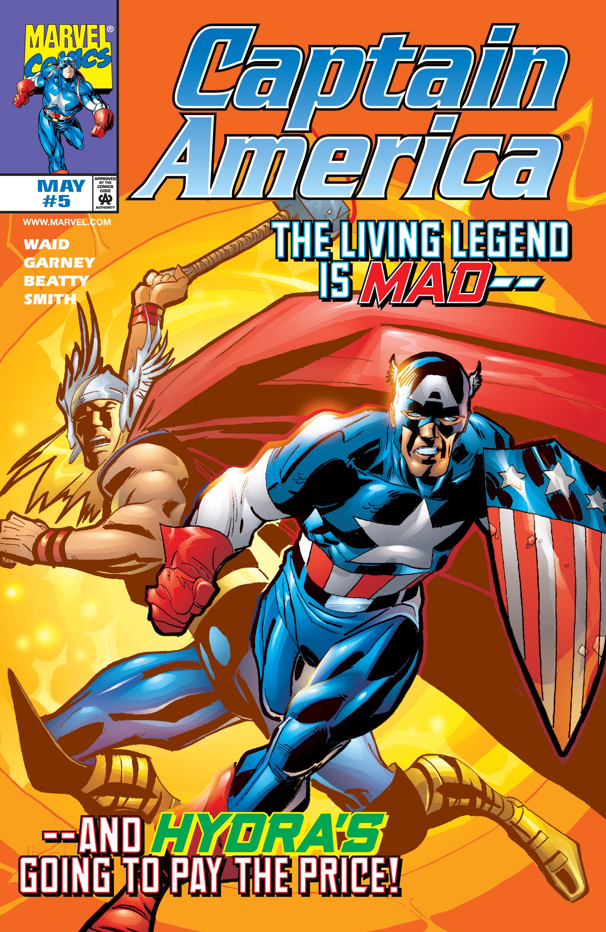 Captain America (1998) Issue #5 #8 - English 1