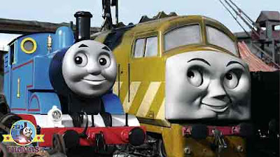 Childrens 2011 movie Thomas and friends day of the diesels DVD Diesel 10 Thomas the train cartoon