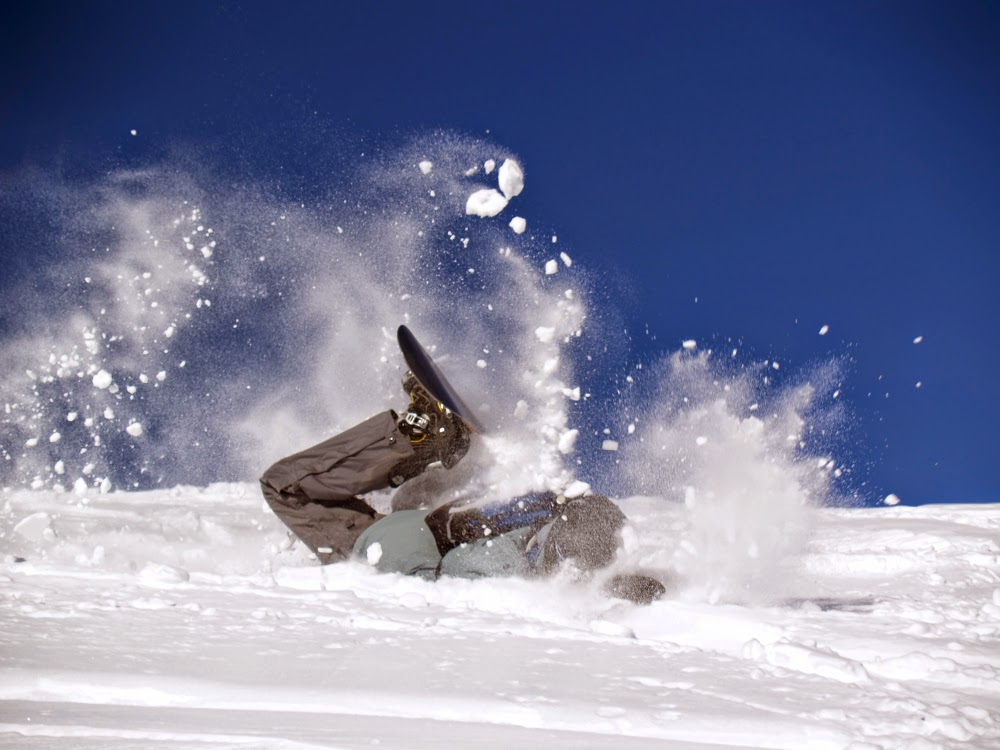 Study finds that snowboarders listening to music have less injuries