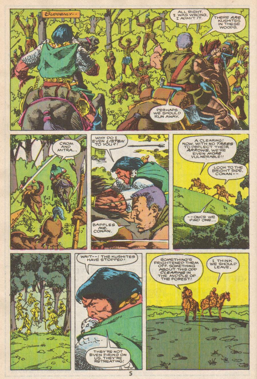 Conan the Barbarian (1970) Issue #192 #204 - English 6