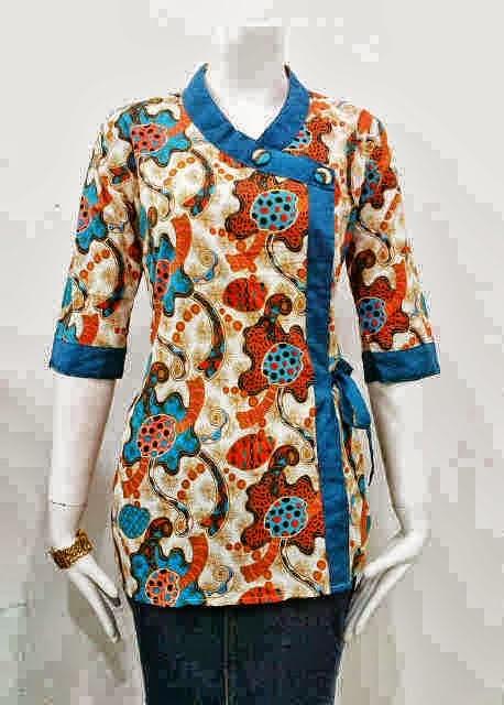 Model Baju Batik Terbaru 2014