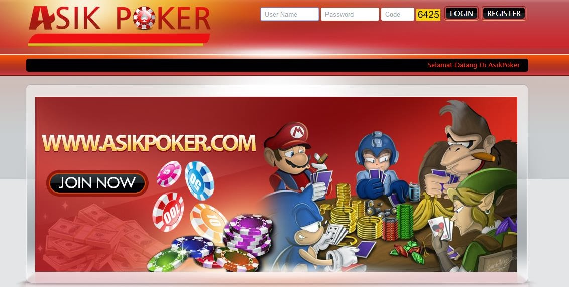 Daftar Poker online uang asli asikpoker.com