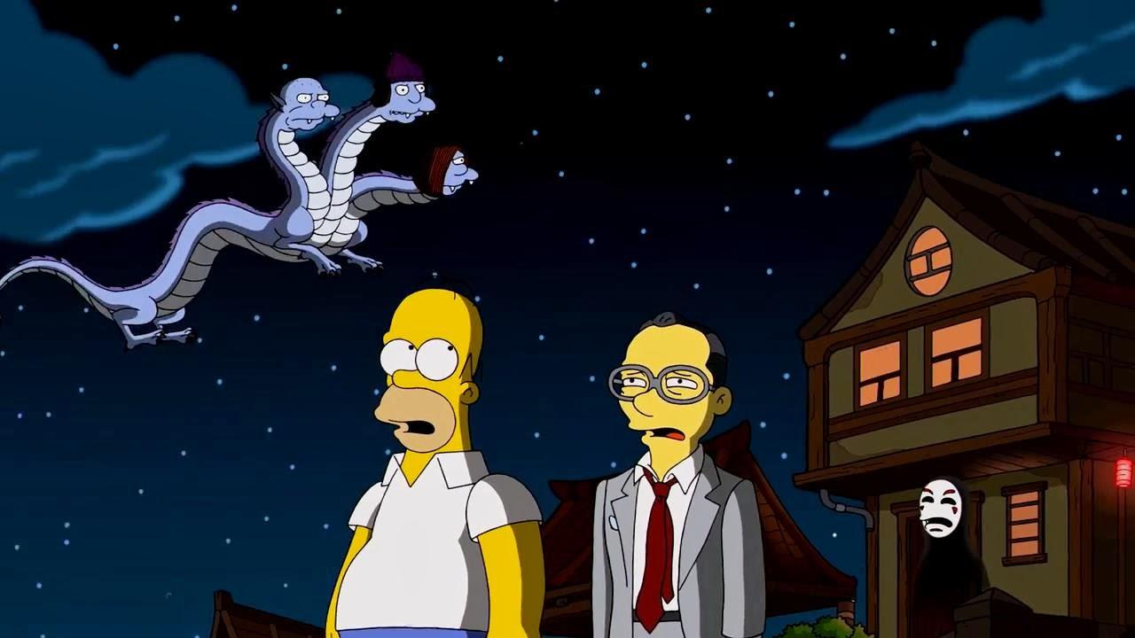 The Simpsons [Homenaje a Hayao Miyazaki]