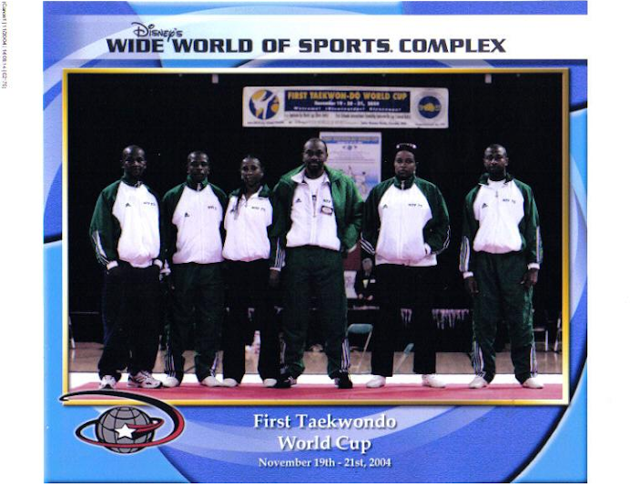 FIRST TAEKWONDO WORLD CUP CHAMPIONSHIP, FLORIDA, USA 2004