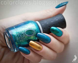 Avon Nailwear Pro+ Savage + Orly Glitz&Glamour + Halley's Comet