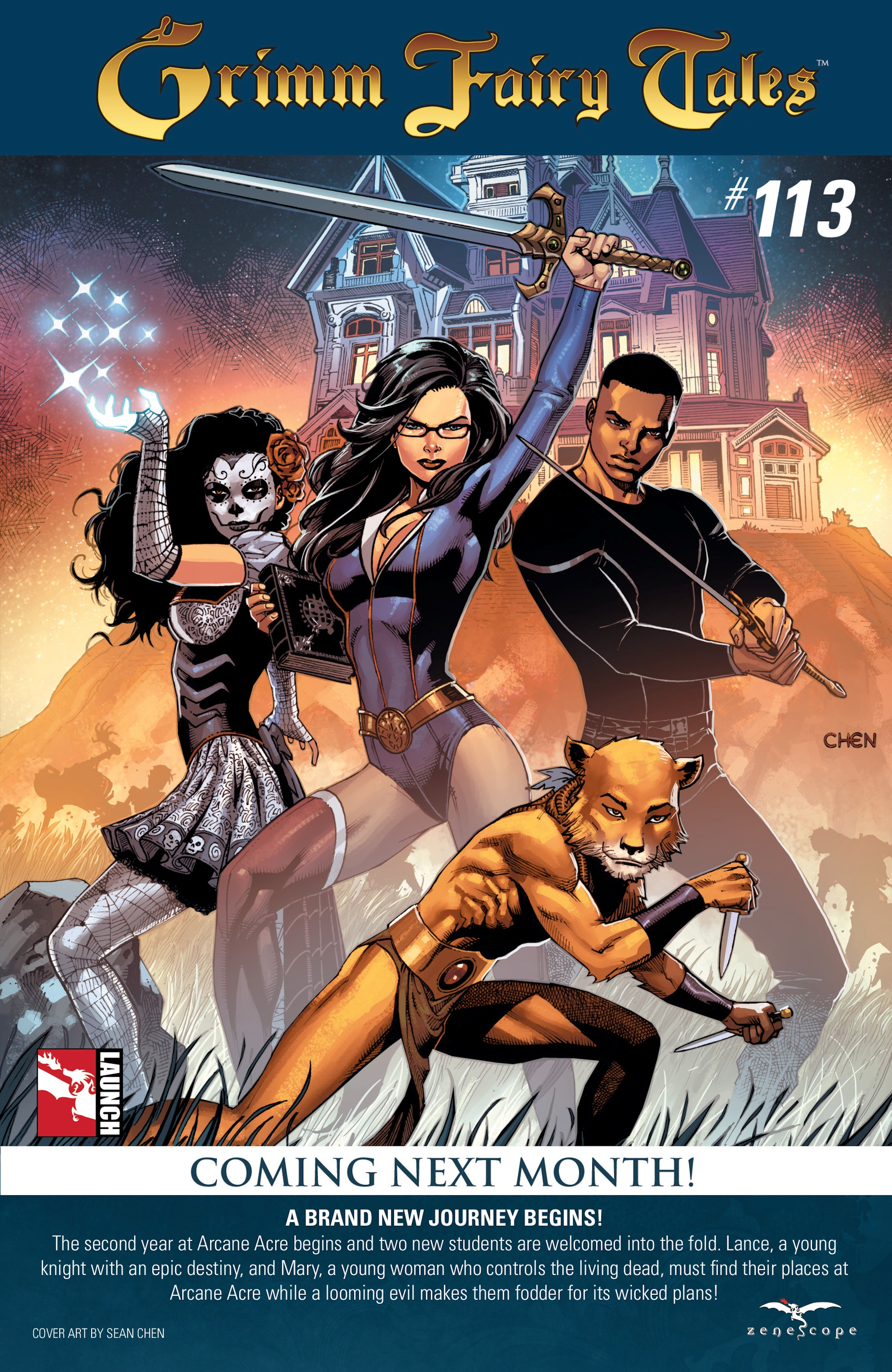 Grimm Fairy Tales (2005) Issue #112 #115 - English 26