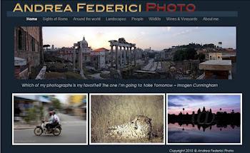Il mio sito di fotografia